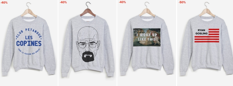raaad we love nancy - mode - walter white - i woke up like this - club petanque - ryan gosling
