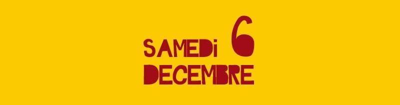 nancy saint nicolas samedi 6 décembre