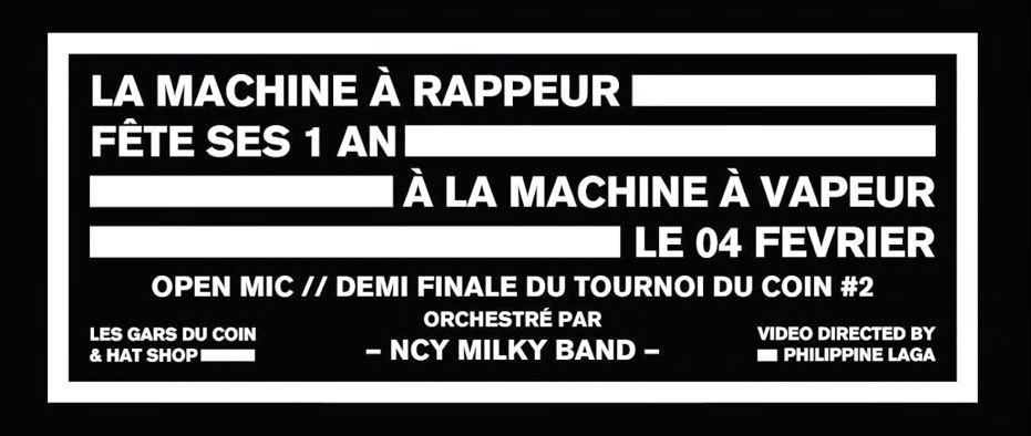 machine a rappeur 1 an we love nancy machine a vapeur line up